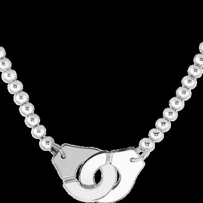 Collier Menottes dinh van R20 - argent et perles d   Collier ...