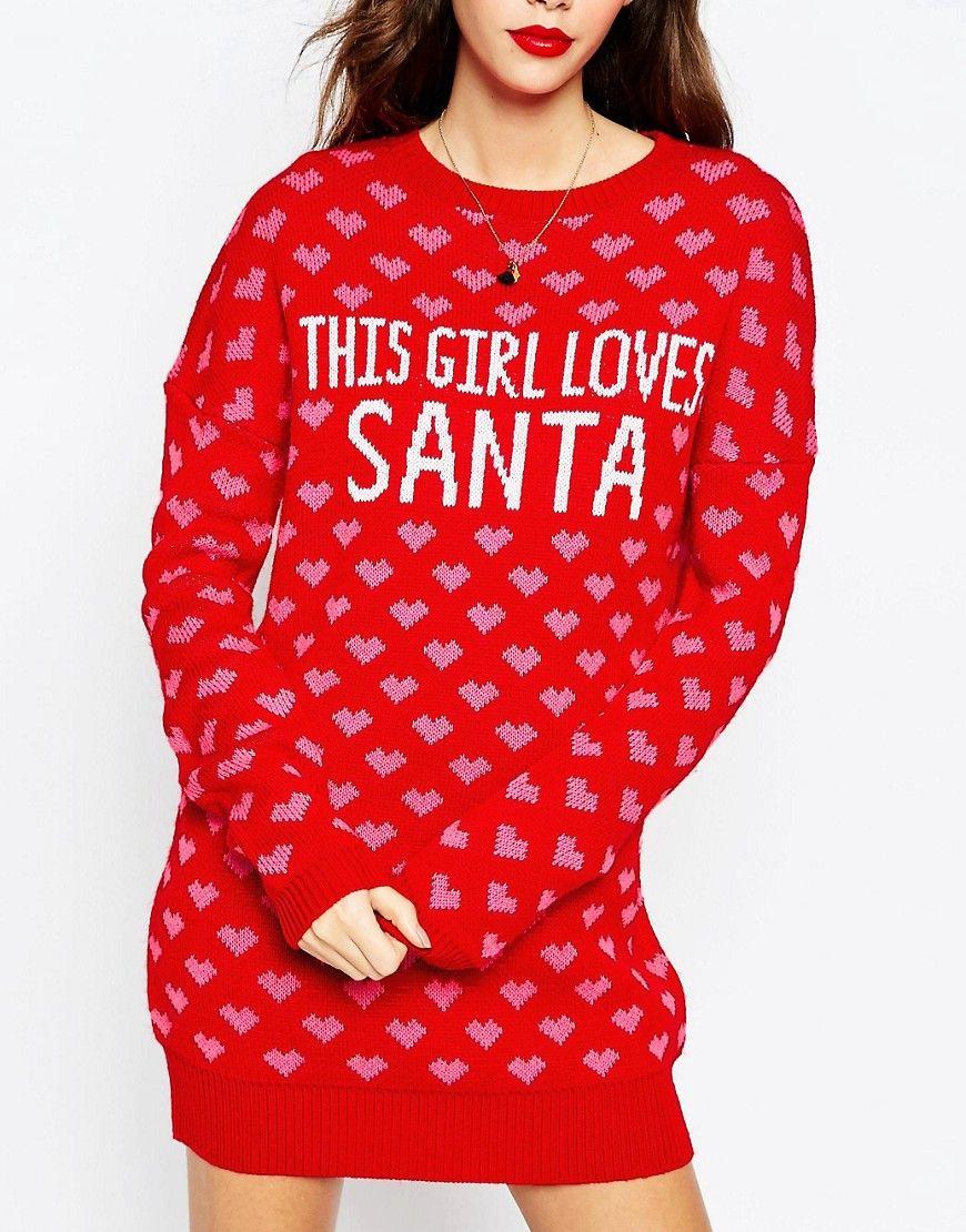 Image result for CHRISTMAS ASOS Christmas jumper dress