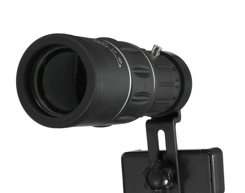 Hot offer universal phone hiking monocular telescope lens