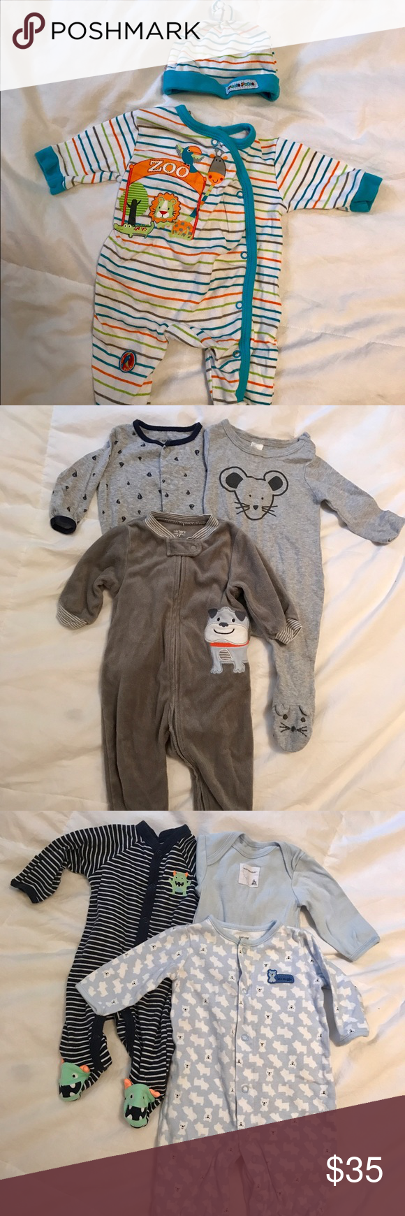 8 Pieces New Born Baby Boy Clothing 0 3 Months Baby Boy Clothes