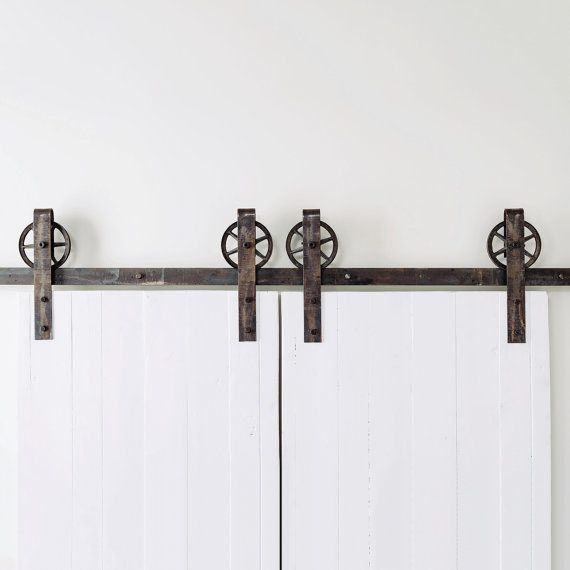 This Is A Beautiful Double Door Vintage Spoked Industrial