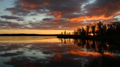 At the end of the day Kuusamo, Finland Rauha Manninen
