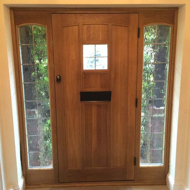 Oak Doors With Sidelights Handmade Wooden Doors Manufacturer In Uk
