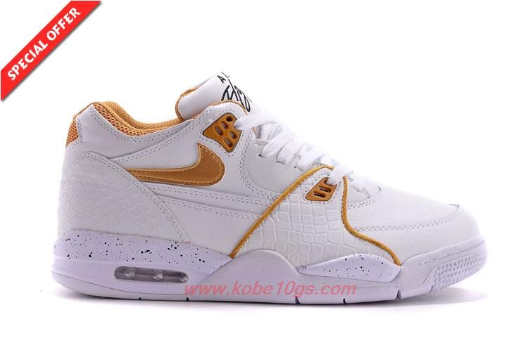 low priced 19601 8729a ... australia 306252 115 white gold leather nike air flight 89 mens for  sale bff73 febca