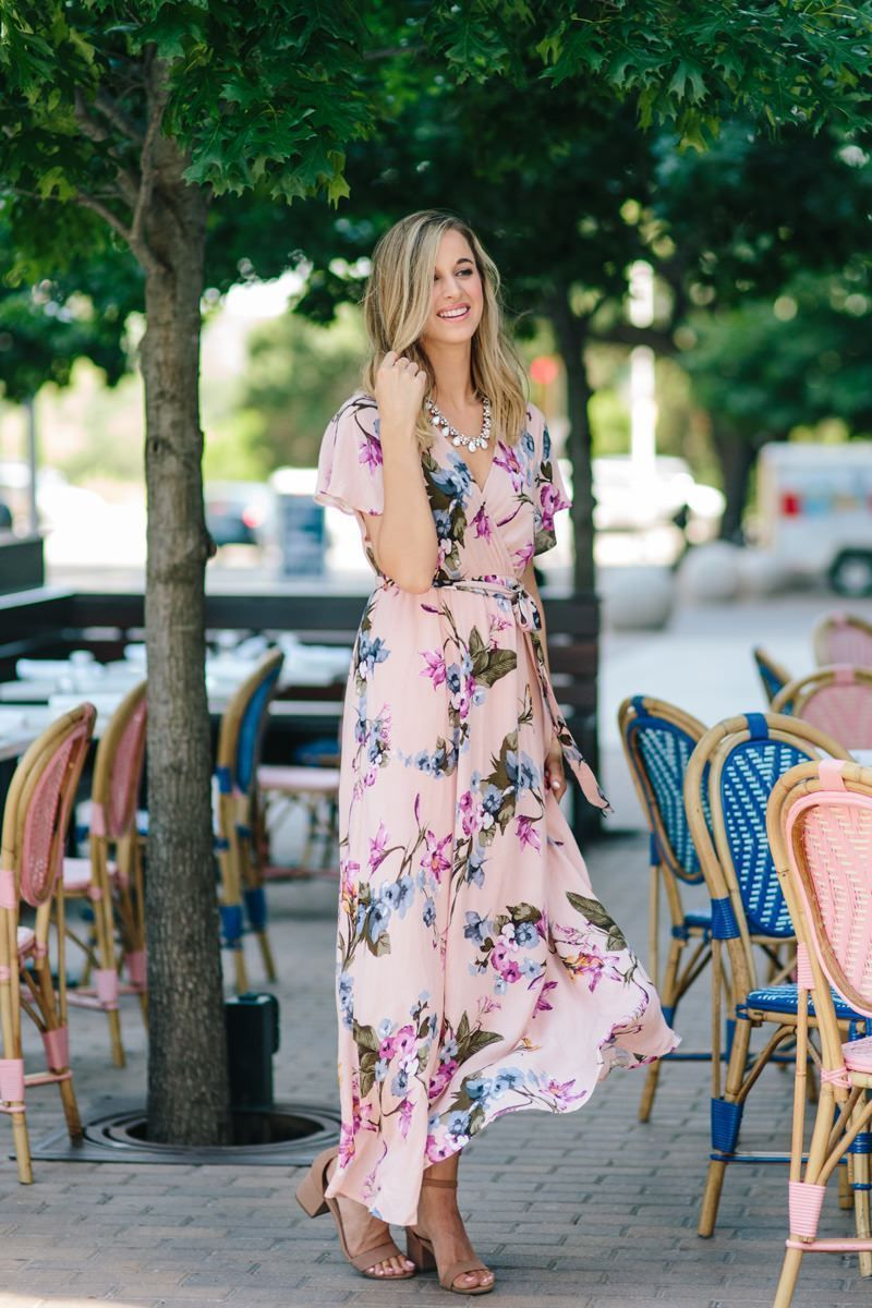 be6922cd210d0 Our best selling Bethany Floral Maxi Dress now comes in this irresistible  blush-blue floral