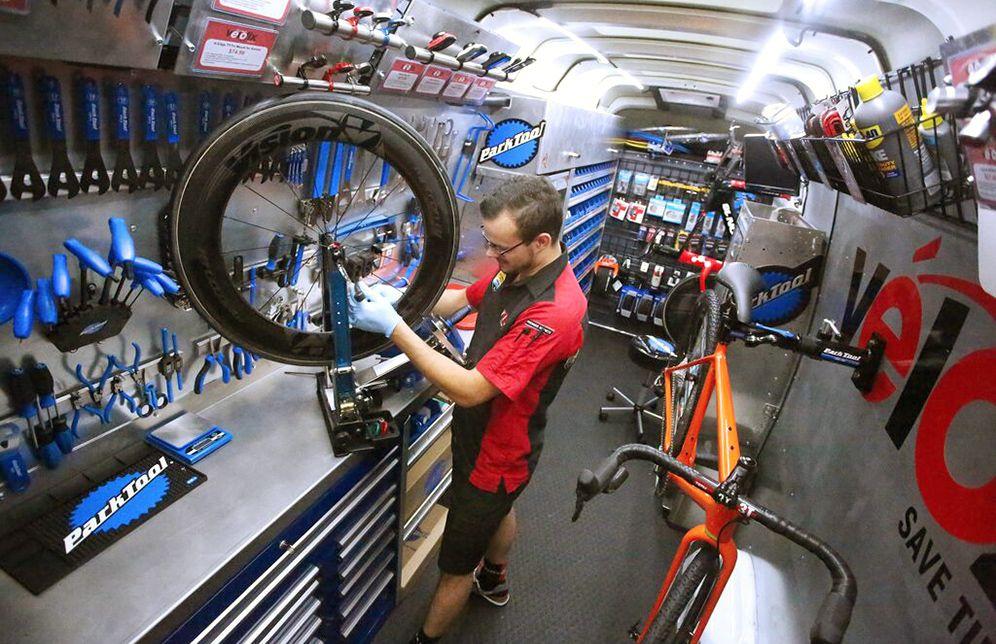 Your Next Bike Shop Might Drive To You Bike Mechanics
