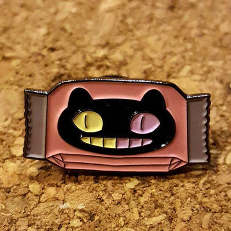 Cookie Cat Enamel Pin (With Images)
