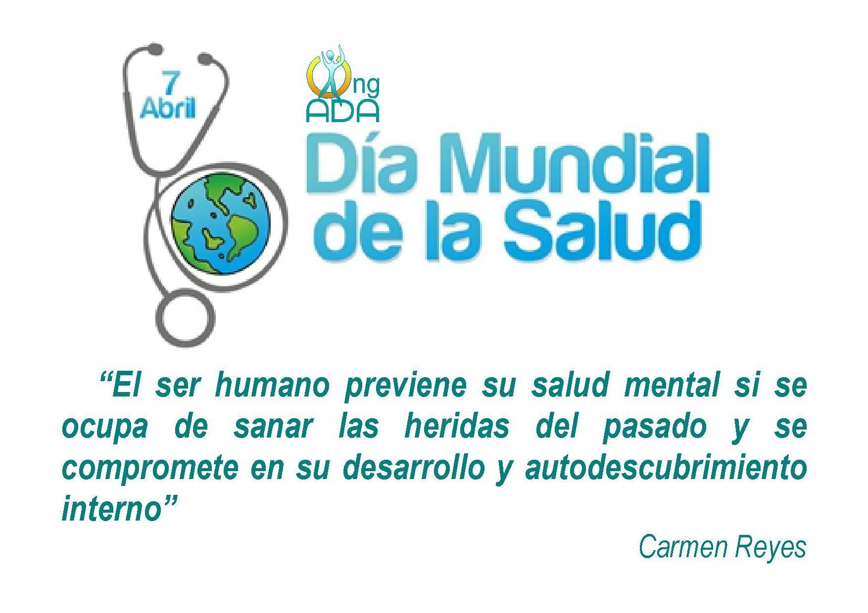 Día Mundial de la Salud.1 | Días Mundiales o