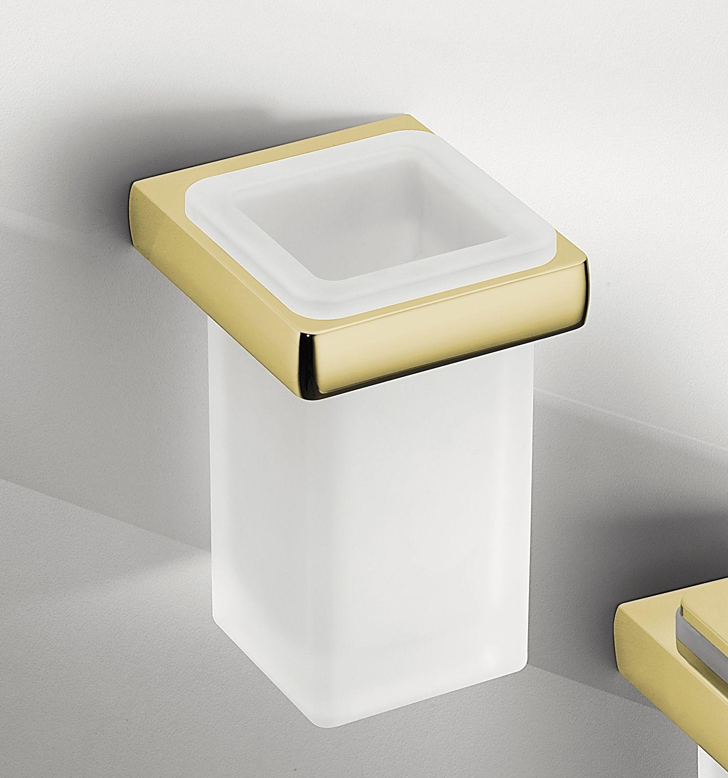 Gold Toothbrush Holder | Bathroom Accessories | Pinterest ...