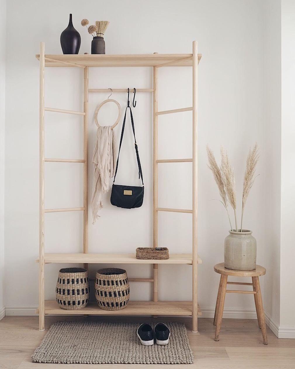 The Elegant Edit Wooden Shelf Design by Samuli Helavuo for Finnish Design House Hakola