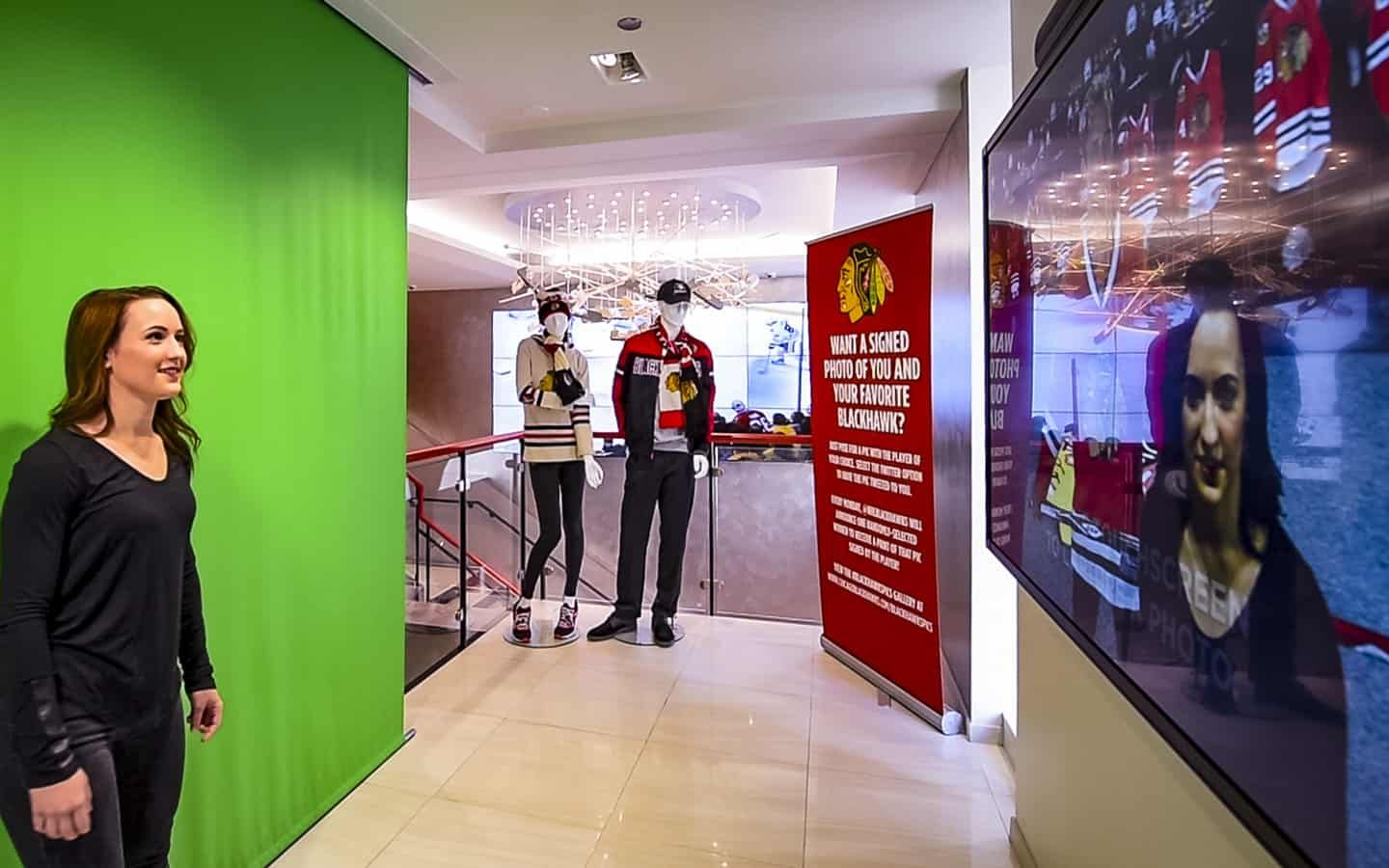 Chicago Blackhawks Augmented Reality Photo Booth