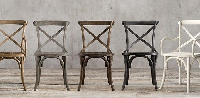 Restoration Hardware Madeleine Collection 8 Styles 5 Finishes Starting At 99 Including Bar Stools Home Goods Chairs Unfinished Wood Chairs Chair