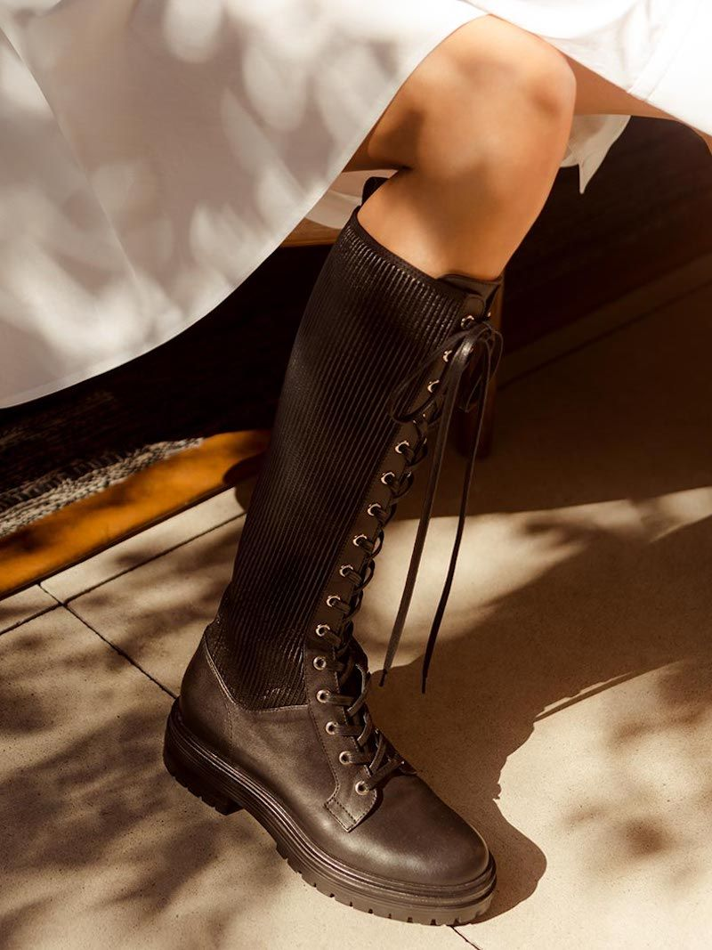 Pointy toe boots, Knee boots, Boots