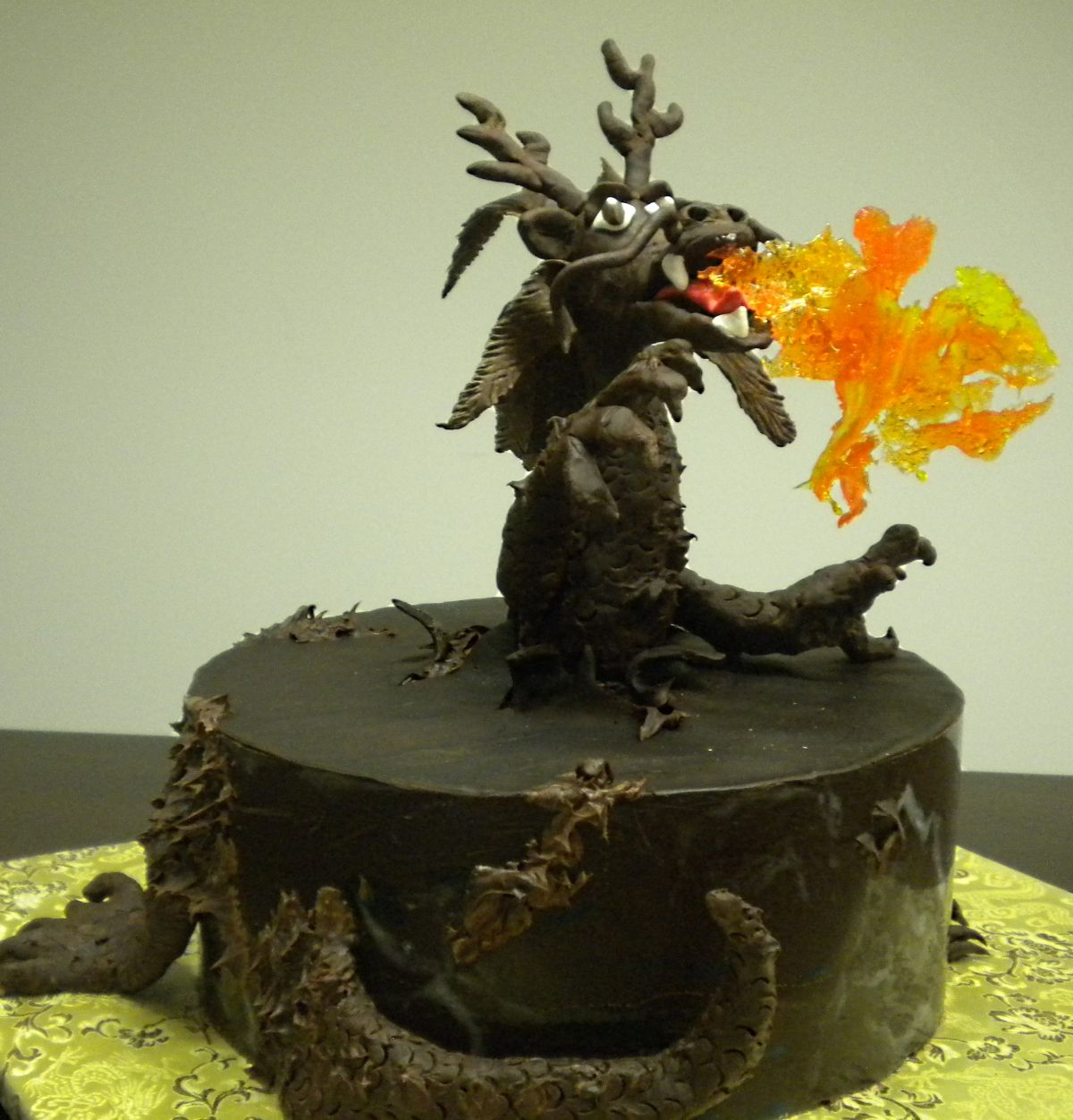 Chocolate Dragon Cake From The Cake Diva Minneapolis Mn Cakes