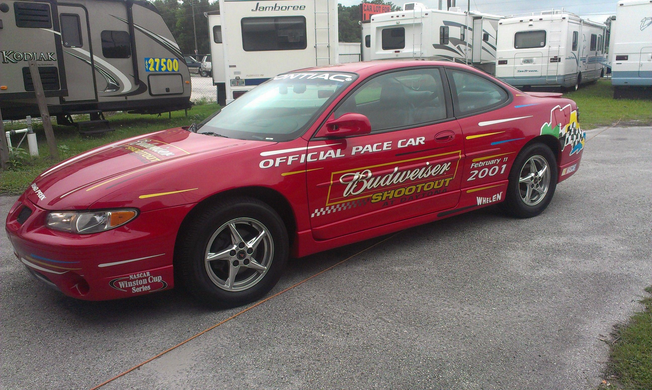 2001 Pontiac Grand Prix GTP Official Daytona Pace Car For Sale By ...