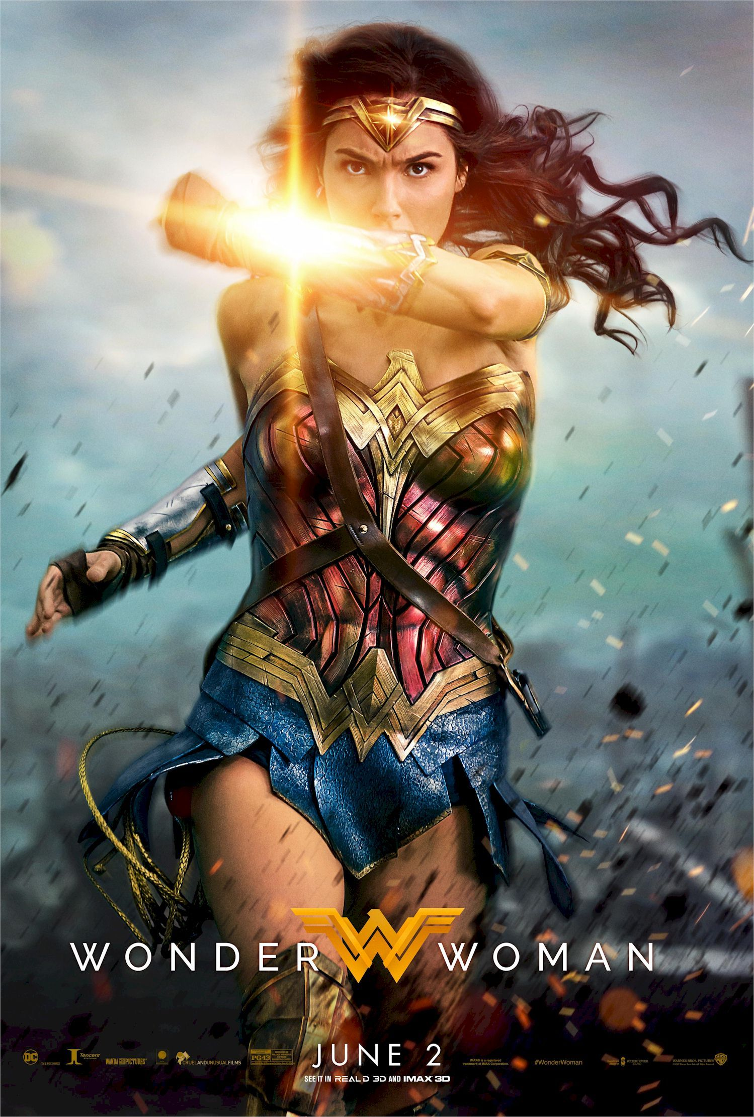 Wonder Woman Surprisingly I Really Enjoyed This Superhero Movie A Strong Female Character That I Fe Wonder Woman Movie Woman Movie Gal Gadot Wonder Woman