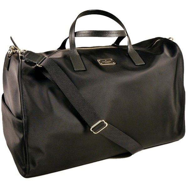 944b4ad5f9cd Pre-owned Kate Spade New Blake Avenue Filipa Black Travel Bag ( 250) ❤  liked on Polyvore featuring bags