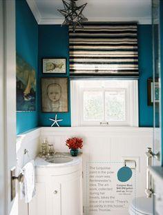 Benjamin Moore Caribbean Blue Water For Hallway Bathroom