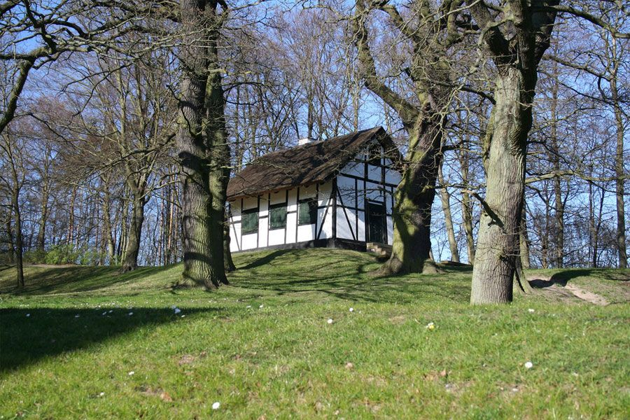 Small Hut Atop A Hill In Lyngby Denmark Photos By