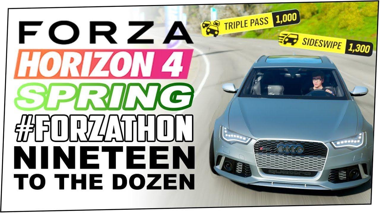 Nineteen To The Dozen Spring Forzathon Forza Horizon 4 Win Up