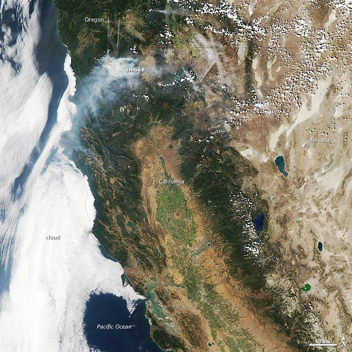 Fires in California Image of the Day Nasa images