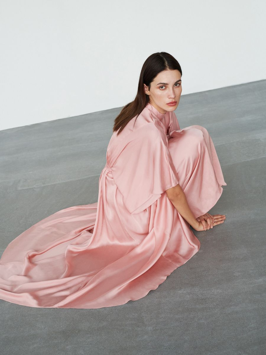 elegancka sukienka maxi, reserved, xi007-39x   elegantes
