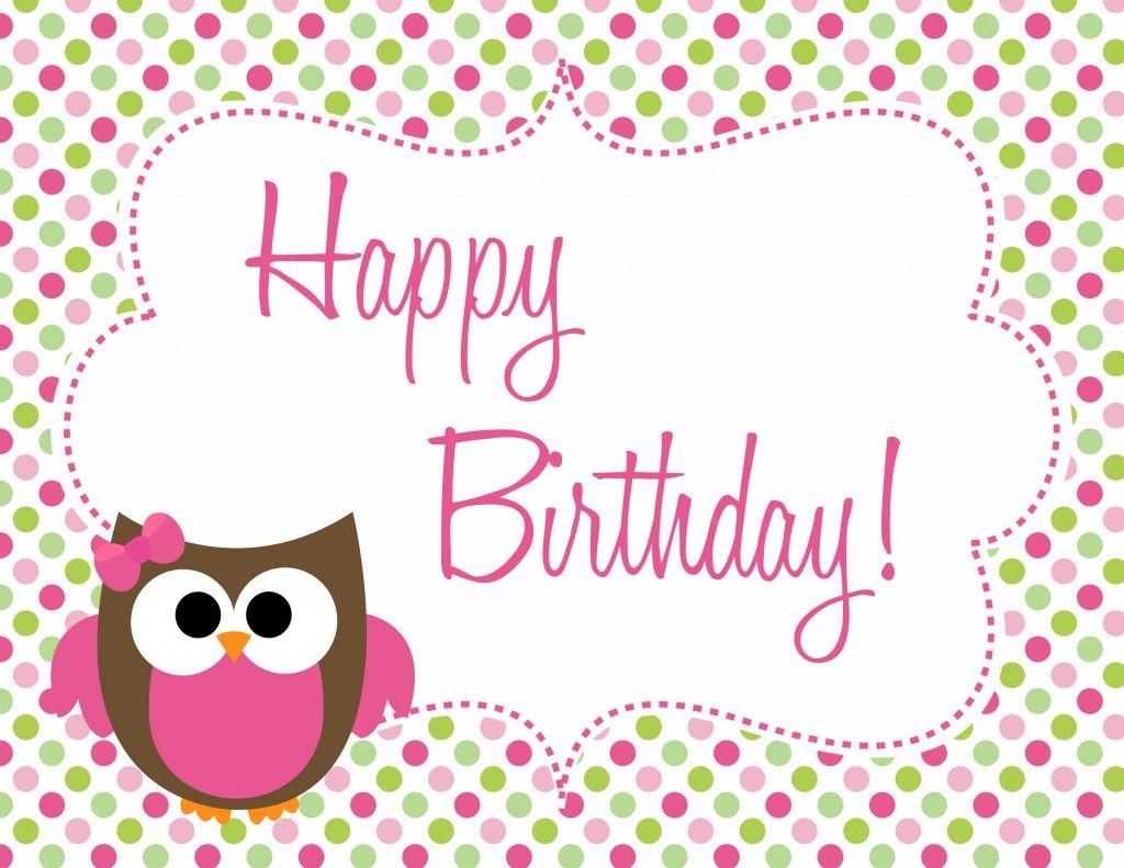 Owl Birthday Freebie Owl Birthday Parties Owl Themed Birthday