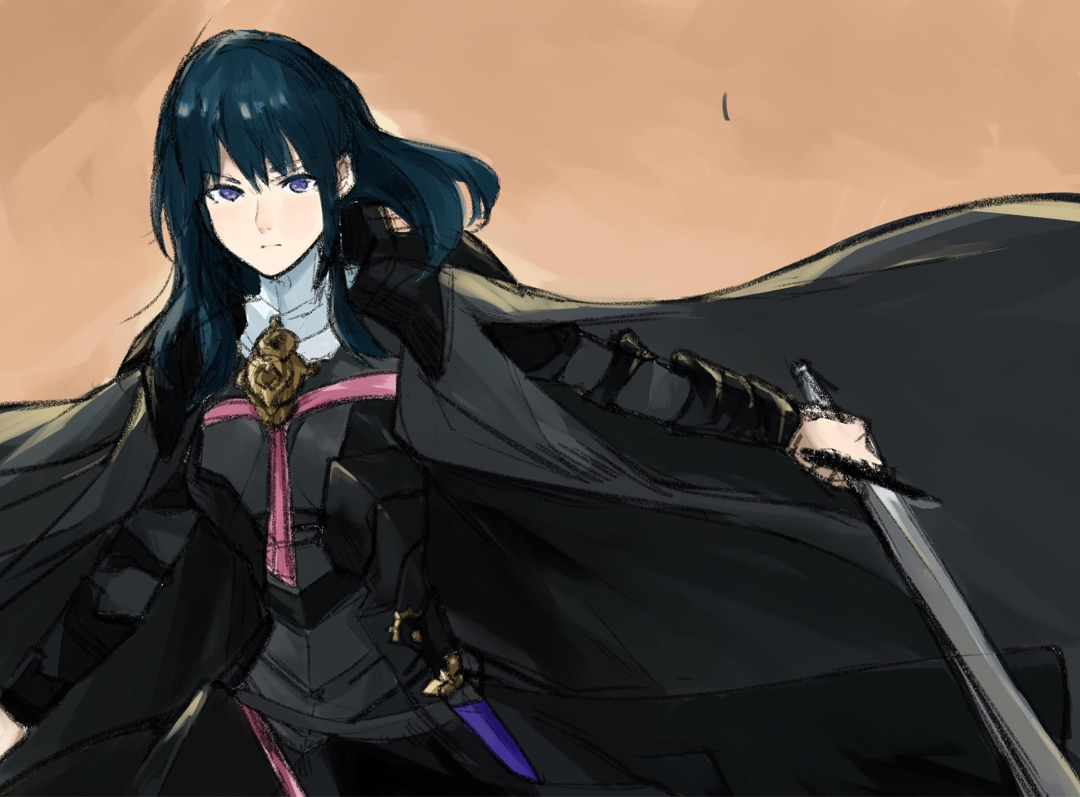Female Byleth sketch Fire emblem, Fire emblem radiant