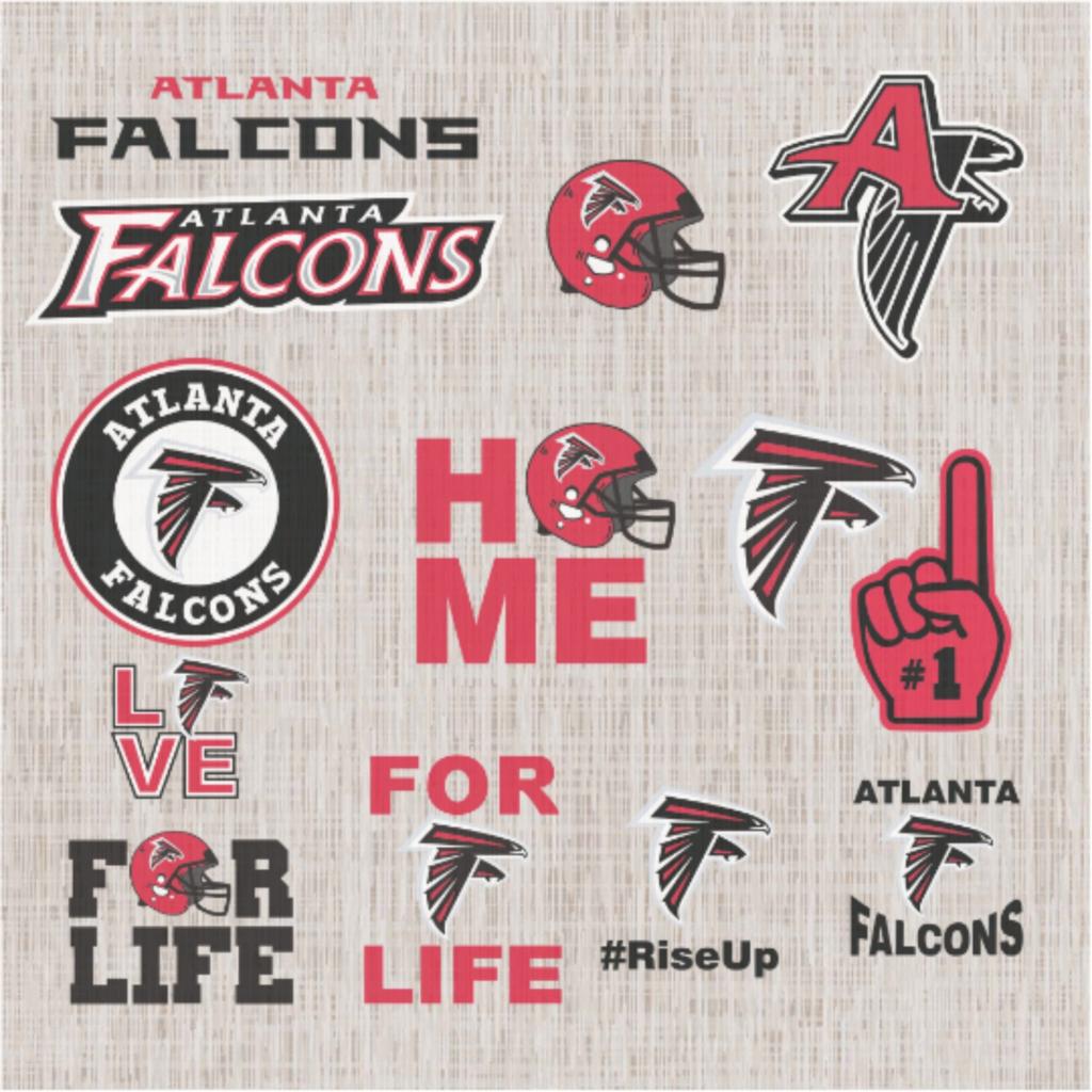 Atlanta Falcons Nfl Svg Football Svg File Football Logo Nfl Fabric Nfl Football Nfl Svg Football Atl In 2020 Atlanta Falcons Football Falcons Football Football Logo