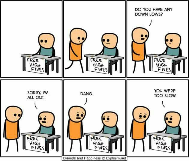 High Fives Cyanide And Happiness High Five Comics