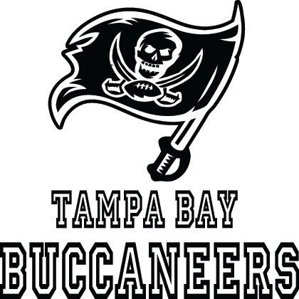 Tampa bay buccaneers football logo name custom by vinylgrafix