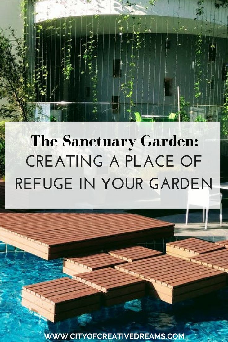 The Sanctuary Garden Creating a Place of Refuge in Your Garden is part of Big garden Backyards - Spacious gardens are one of the most valued wonders of today's real estate world since there are so many people spending their lives in small apartments with no outside area  That's why you need to appreciate your outdoor oasis and give it the love and attention it deserves   and it will definitely find a …