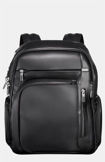 695, Black Leather Backpack  Tumi Arrive Kingsford Leather Backpack Black  One Size. Sold by Nordstrom. 39a3c93f4d1