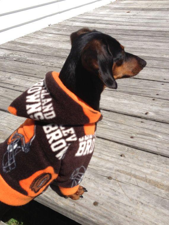 NFL Cleveland Browns Fleece Custom Dog Hoodie. My Bubbie boy needs this!  D 289f19d40
