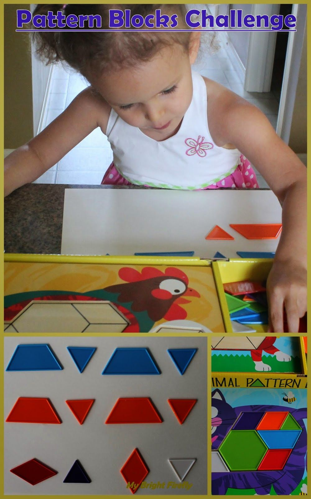 Pattern Blocks Math for Kids | Math for kids, Preschool ...