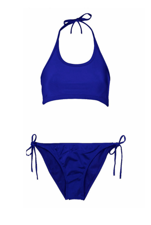 6cd0624d19c Swimwear - Two Piece Blue | Period Swimwear | Swimwear, String ...