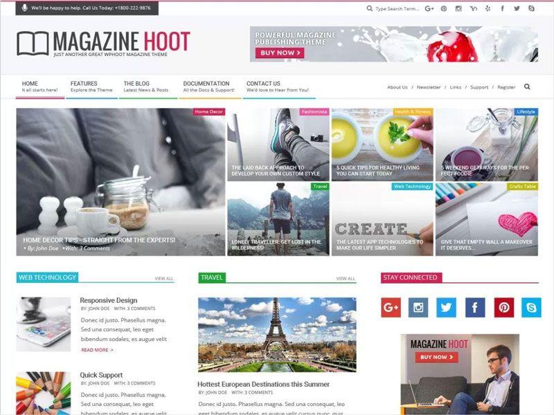 Magazine-Hoot-Multicolor-News-Magazine-Free-WordPress-Theme ...