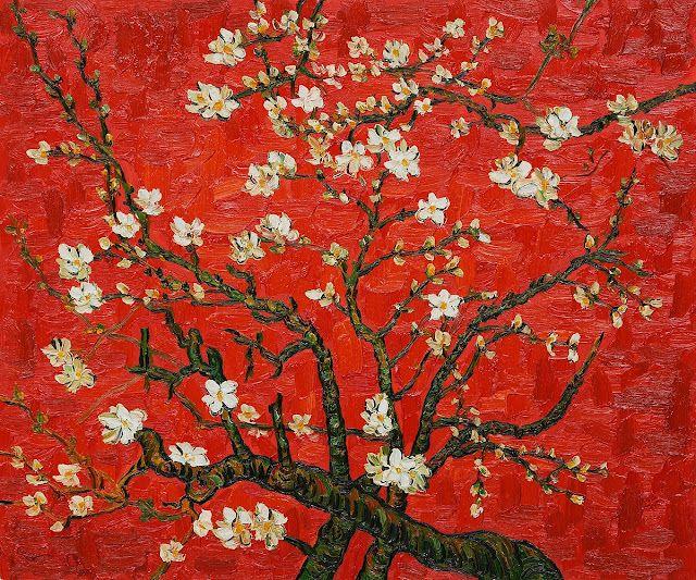 Dragonfly Guava Vincent Van Gogh Cherry Blossom Vincent Van Gogh Van Gogh Van Gogh Paintings