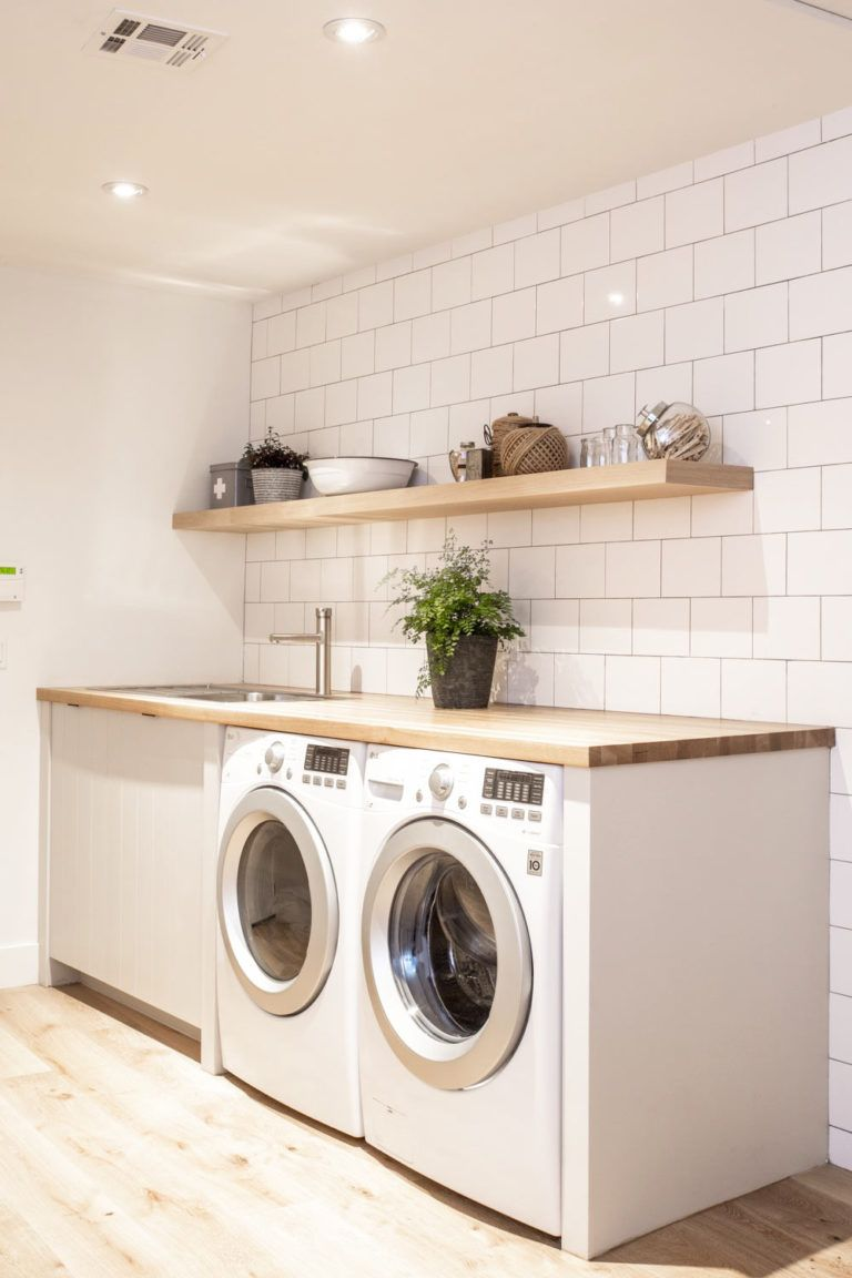 Modern Laundry Rooms That Will Make Laundry More Fun #bathroomlaundry
