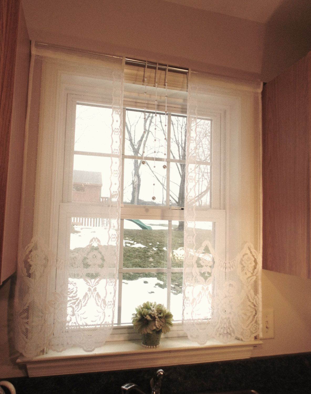 Kitchen window treatments  window treatment curtain panels lace curtains kitchen window curtains