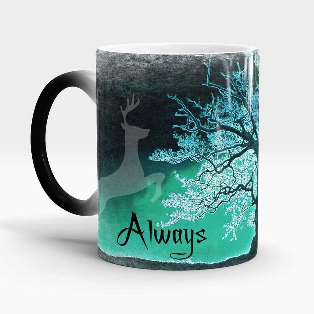 Harry Potter Magic Mug After All This Time Always Color Changing Harry Potter Magic Mugs Always Harry Potter
