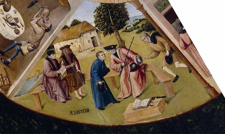 Los siete pecados capitales avaricia el bosco arte - La mesa de los pecados capitales ...