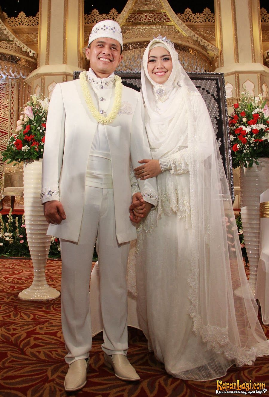 Model Baju Pengantin Syari Modern Hijab Wedding Dresses