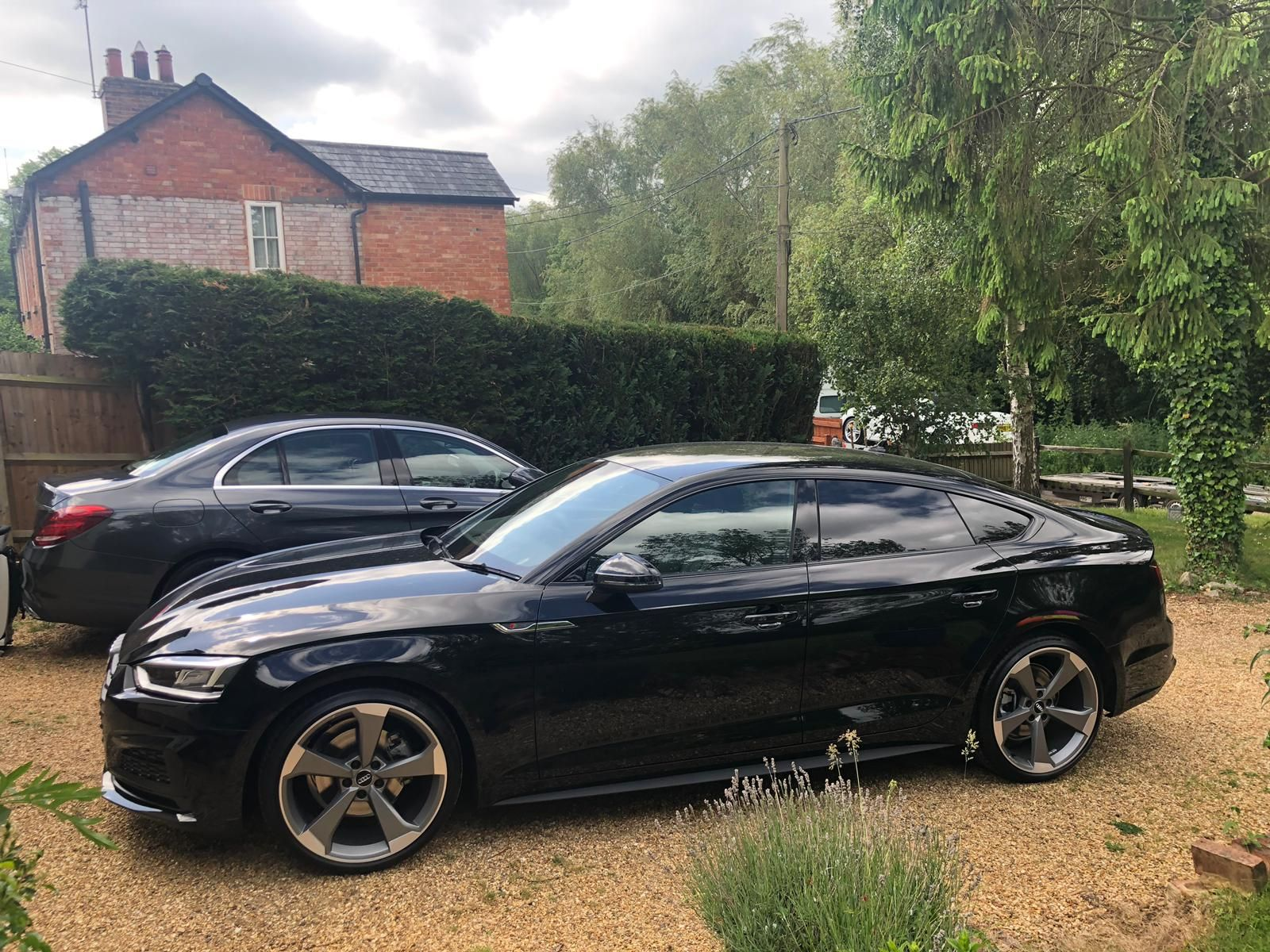 The Audi A5 SPORTBACK 35 TFSI Black Edition 5door S Tronic