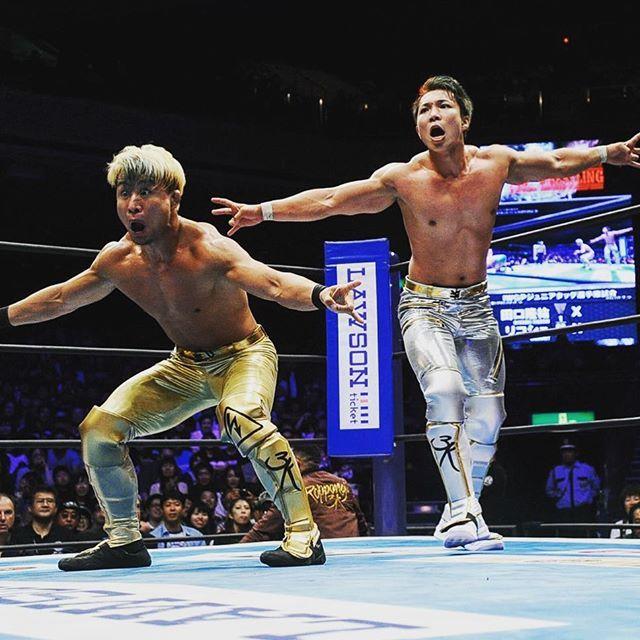 新日本プロレス両国大会の試合画像