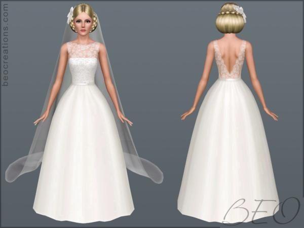 vestido de novia sims 4 mod | the sims 4 | pinterest | sims, sims 4