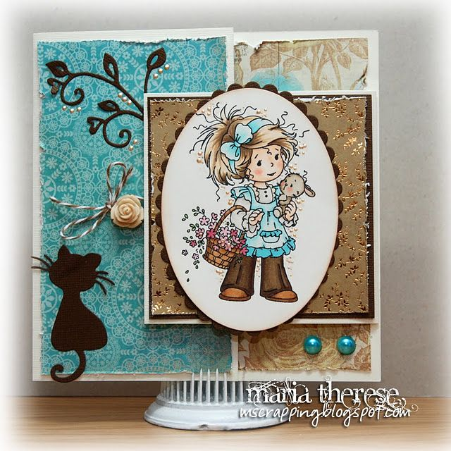 My Whimsy Suzi card (Joy fold)
