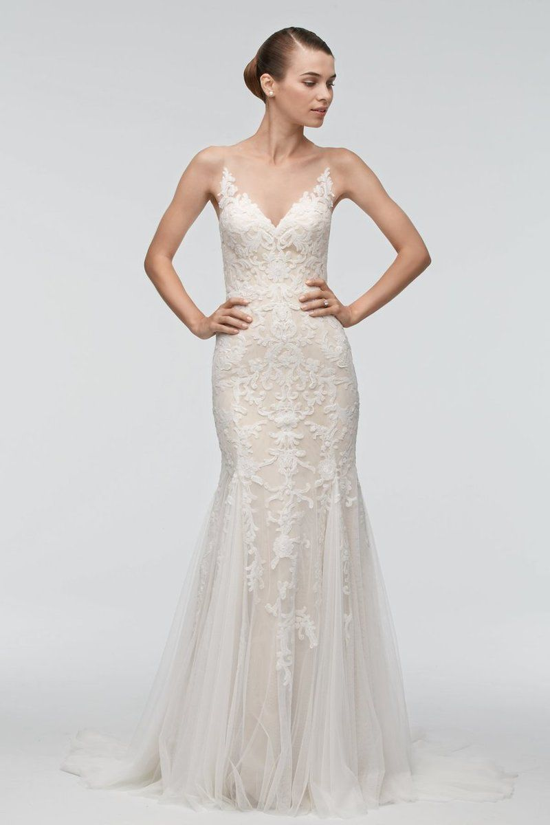 Mark zunino wedding dresses  Watters Wedding Dress Kimura  Blush bridal Bridal accessories and