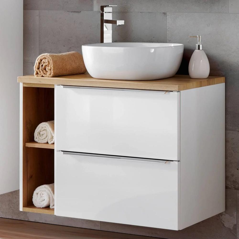 Badezimmer Waschtisch Set Mit 60cm Keramik Aufsatzwaschbecken Toskana Badezimmer Waschtische Waschtisch Set Aufsatzwaschbecken