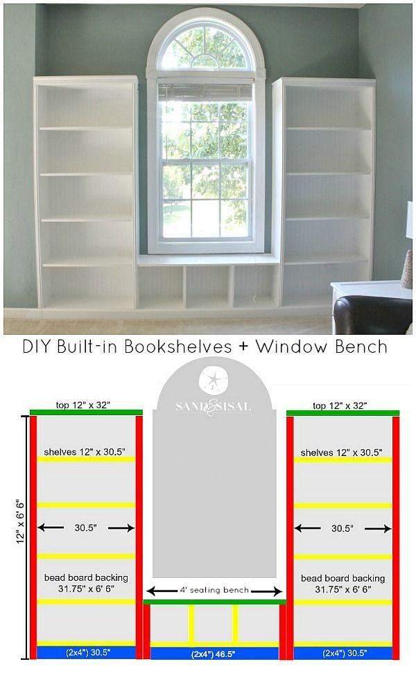 window seat bookshelf build your own diy builtin bookshelves window bench tutorial with beadboard and rope trim moldings can you cut straight line circular saw seat sand sisal blog